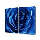 "Модульная картина ""Синяя роза"""