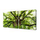"""Модульная картина на холсте с подрамником """"Летнее дерево"""""""