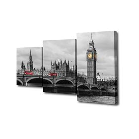 "Картина модульная на подрамнике ""Лондон""  26х50см; 26х40см; 26х32см    50х80см"