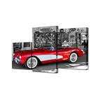 """Модульная картина на подрамнике """"Ретроавтомобиль"""", 26×50 см, 26×31 см, 26×40 см, 50×80 см"""