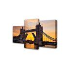 """Модульная картина на подрамнике """"Лондонский мост"""", 26×50 см, 26×40 см, 26×32 см, 50×80 см"""