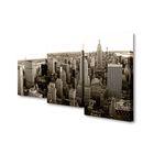 """Модульная картина на холсте с подрамником """"Нью-Йорк"""""""