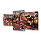 """Модульная картина на подрамнике """"Дыхание города"""", 26×50 см, 26×40 см, 26×32 см, 80×50 см"""