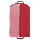 Чехол для одежды 60×120 см, спанбонд, цвет бордо