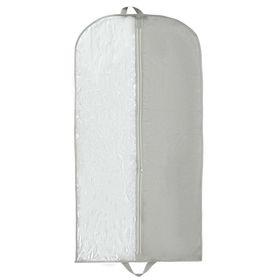 Чехол для одежды, 60×120 см, спанбонд, цвет серый