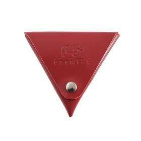 Футляр для монет на кнопке, цвет красный в Донецке