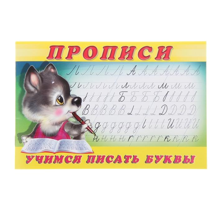 Раскраска-пропись «Учимся писать буквы» * - фото 1433034