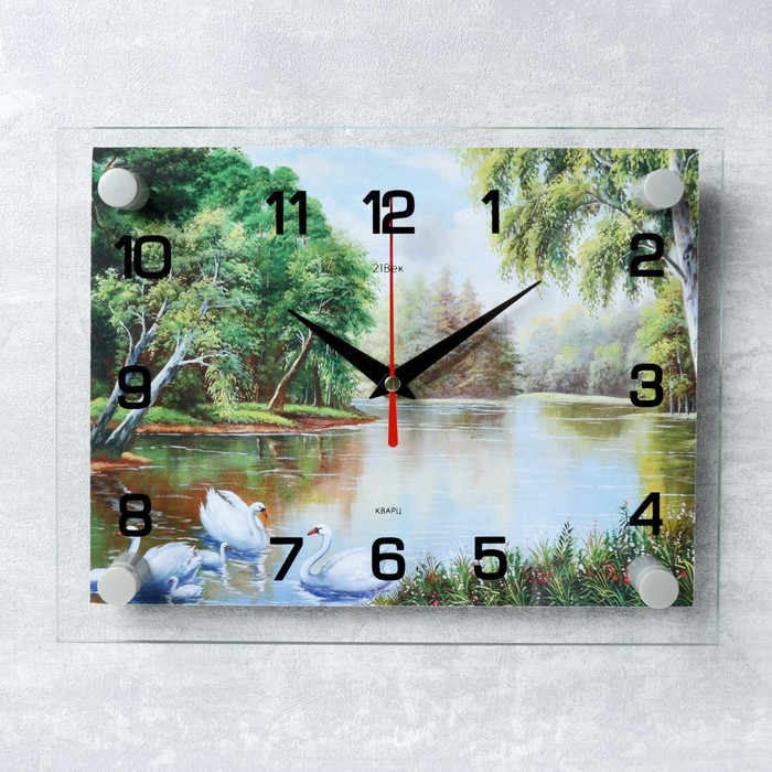 """Часы настенные, серия: Природа, """"Природа"""" микс 20х26 см"""