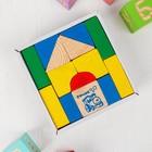 Конструктор «Цветной», 14 деталей - фото 106533928