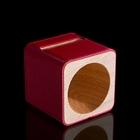 Подставка для телефона iPhone 4,5 (функция усиления звука) красная