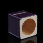 Подставка для телефона iPhone 4,5 (функция усиления звука) фиолетовая