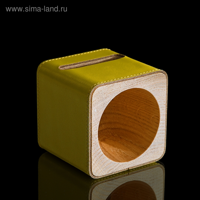 Подставка для телефона iPhone 4,5 (функция усиления звука) жёлтая
