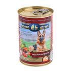 """Влажный корм """"Верные друзья"""" для собак, мясное ассорти в соусе, ж/б, 400 гр"""