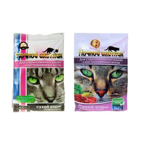 Сухой корм 'Ночной охотник' для стерилизованных кошек и кастрированных котов, 400 г Ош