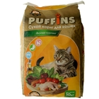 Сухой корм Puffins для кошек, вкусная курочка, 10 кг