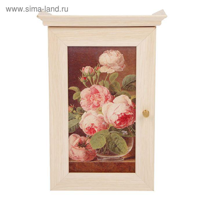 """Ключница """"Чайные розы"""""""