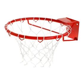 Корзина баскетбольная №7, d=450 мм, усиленная труба 20 мм, с сеткой