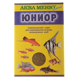 """Корм для рыб """"АКВА МЕНЮ. Юниор"""", 20 г"""