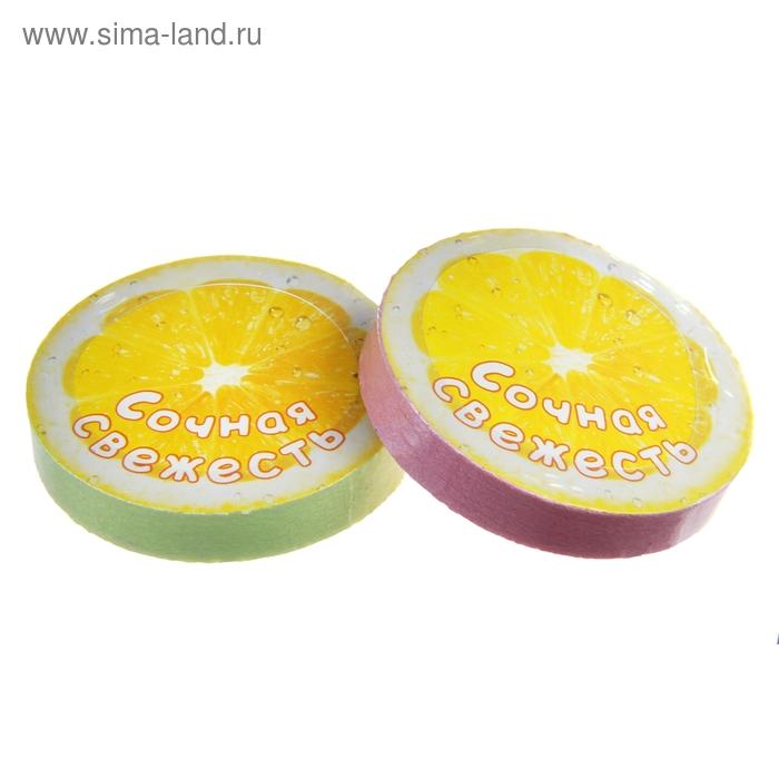 """Полотенце прессованное Collorista """"Сочная свежесть"""", размер 28 х 28 см, цвет микс"""