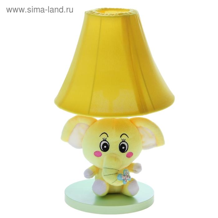 """Светильник детский """"Плюшевый слоненок"""", жёлтый"""