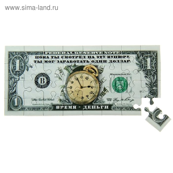 """Магнит-пазл купюра """"1 Доллар"""""""