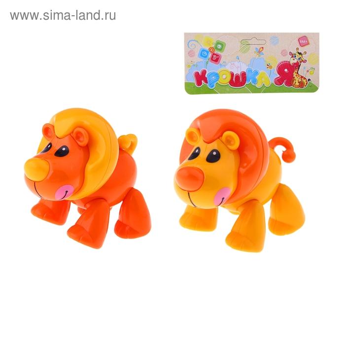 """Фигурка животного """"Львёнок"""" с подвижными лапами, головой, хвостиком"""