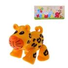 """Фигурка животного """"Леопард"""" с подвижными лапами, головой, хвостиком"""