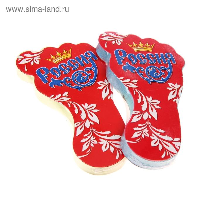 """Полотенце прессованное Collorista """"Россия"""", размер 28 х 60 см, цвет микс"""