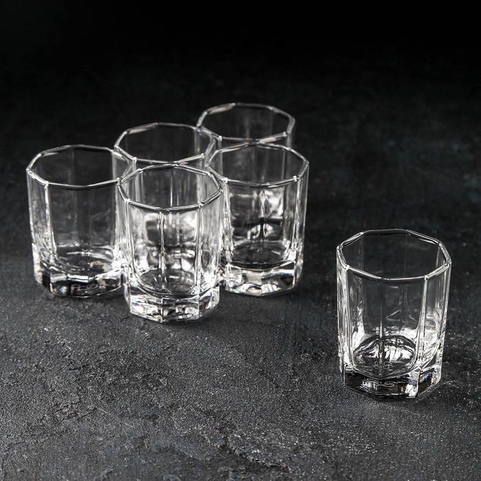 Набор стопок для водки «Кошем», 6 шт, 60 мл - фото 308063736