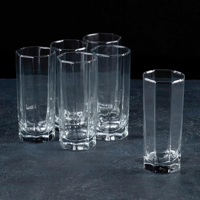 """Набор стаканов высоких для коктейля 265 мл """"Кошем"""", 6 шт"""