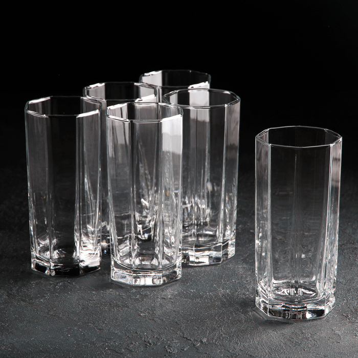 Набор стаканов для пива Kosem, 380 мл, высокие, 6 шт - фото 619773