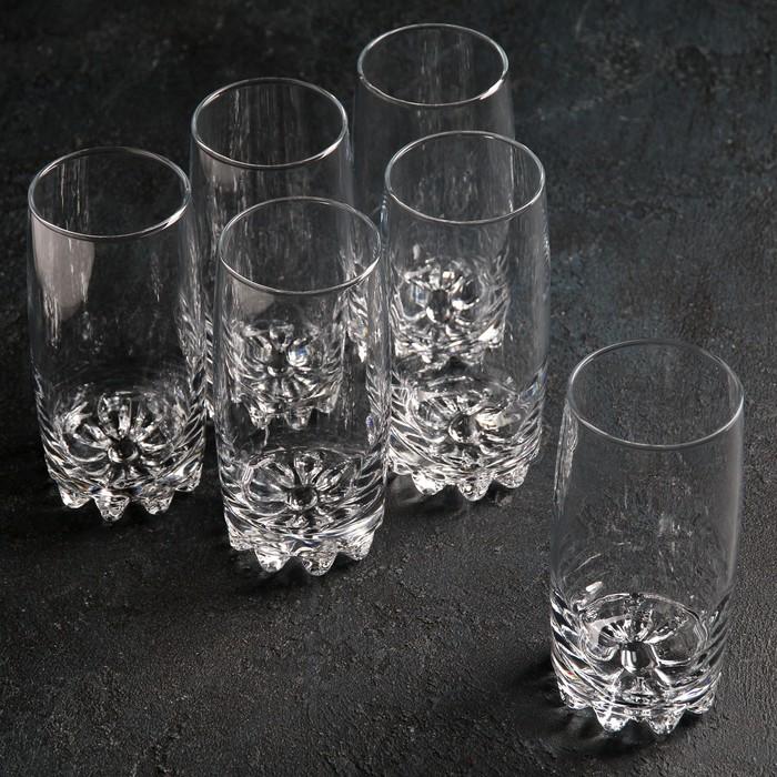 """Набор стаканов для коктейля 375 мл """"Сильвана"""", 6 шт"""