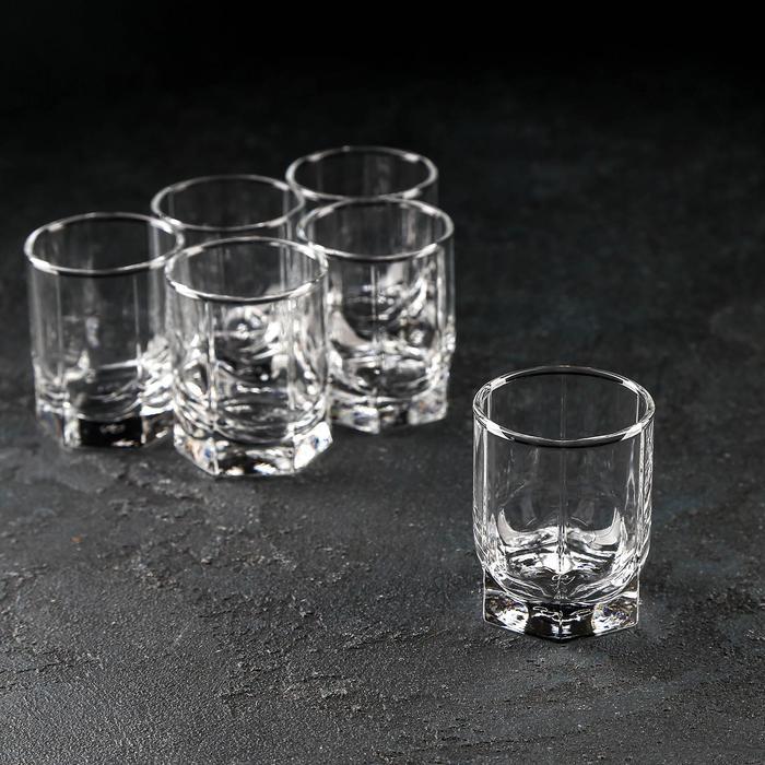 "Набор стопок для водки 65 мл ""Танго"", 6 шт"