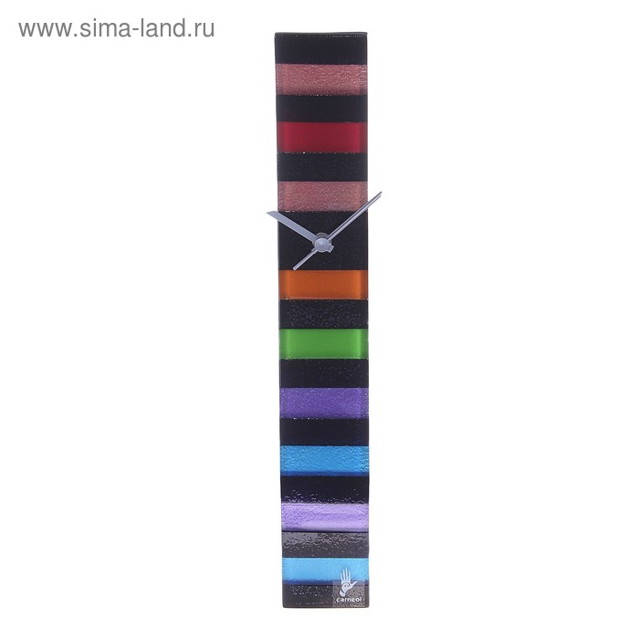 """Часы настенные """"Разноцветные полосы"""""""