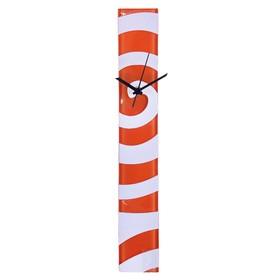 """Часы настенные """"Спираль"""", оранжевые"""