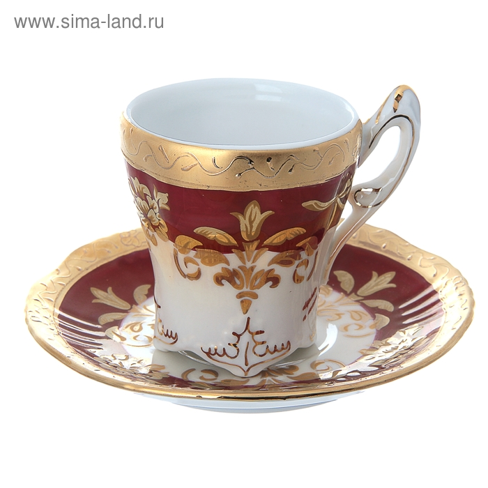 "Кофейная пара ""Роза"", 110 мл"