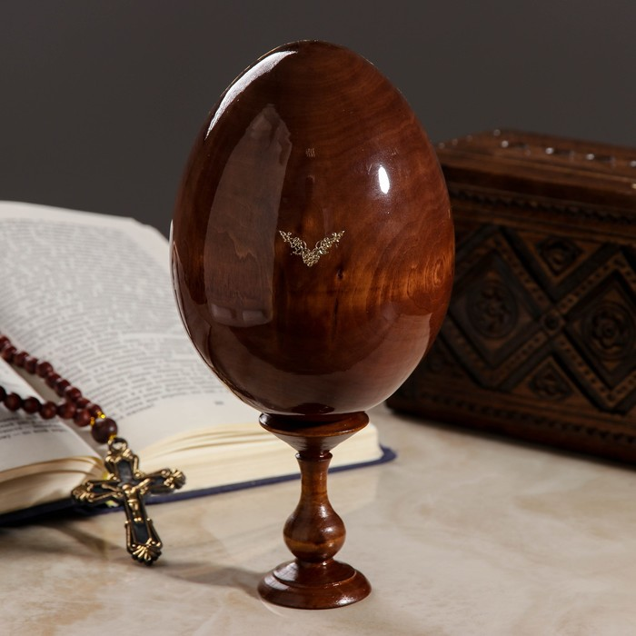 Яйцо сувенирное «Господь Вседержитель», на подставке, крупноликий