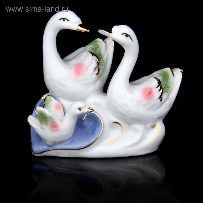 "Сувенир ""Семейство лебедей на пруду"""