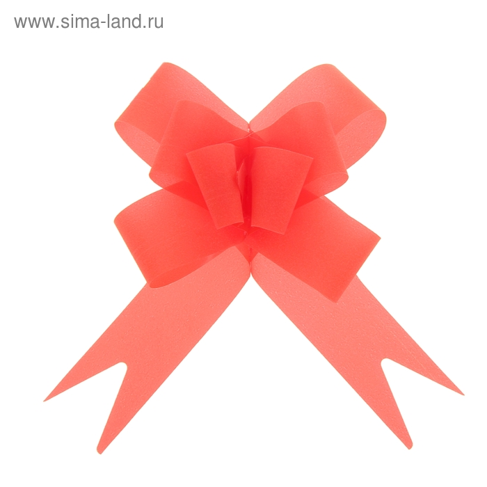 "Бант-бабочка №2,3 ""Классика"", цвет красный"