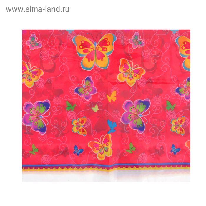 "Скатерть ""Бабочки"", 108х180 см"
