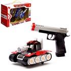 """Танк """"Артиллерия"""", с пистолетом, световые и звуковые эффекты, работает от батареек"""