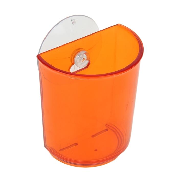Держатель для зубных щеток на присоске, цвета МИКС