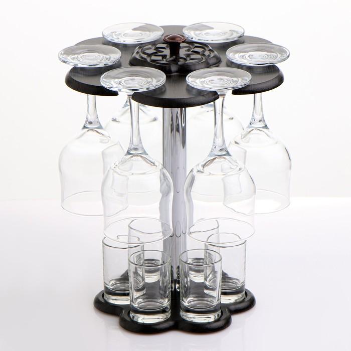 """Мини-бар """"Гладье"""" 12 предметов, под вино 290 мл/ 50 мл - фото 1580390"""