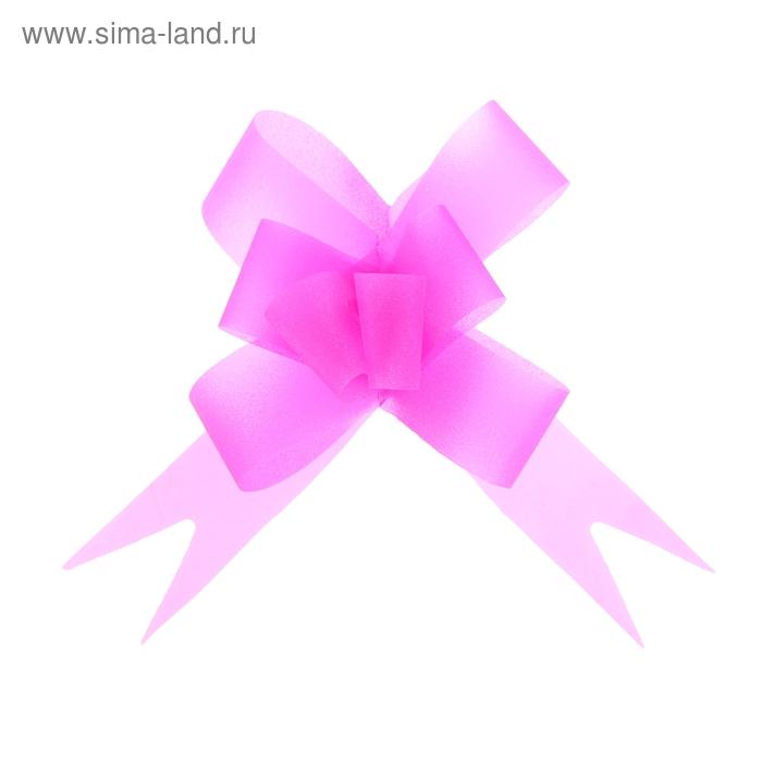 """Бант-бабочка №2,3 """"Классика"""", цвет розовый"""