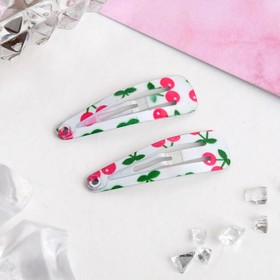 "Hair pins ""flower"" cherry (set of 12 PCs.)"