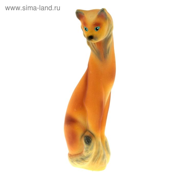 """Копилка """"Кошка Ангора"""" флок, жёлтая"""