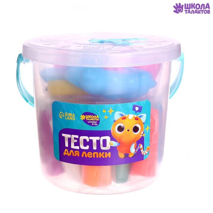 Тесто для лепки 16 цветов по 23 г + 14 предметов
