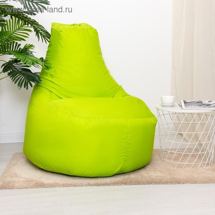"""Кресло-мешок """"Банан"""", d90/h100, цвет тёмно-салатовый"""