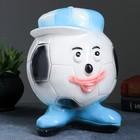 """Копилка """"Мяч в синей кепке"""" 20см"""