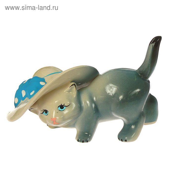 """Сувенир """"Кот в шляпе"""" микс"""